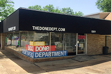 The Done Dept. - View from corner of Walsh and Hampton